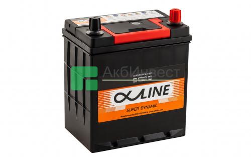 ALPHALINE Super Dynamic MF46B19L 44Ач R+ EN400A 187x127x220 B01